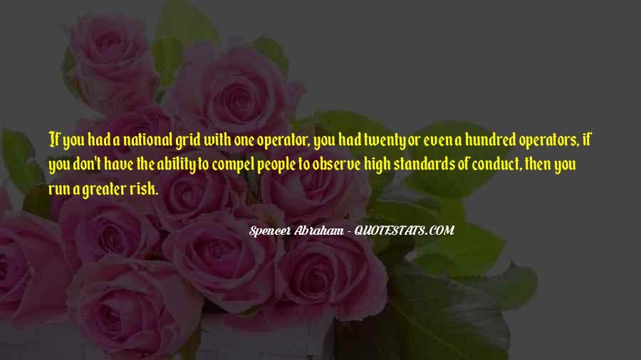 Operator Quotes #825692