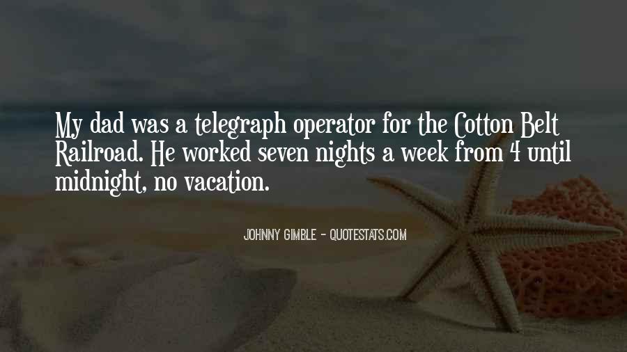 Operator Quotes #84091