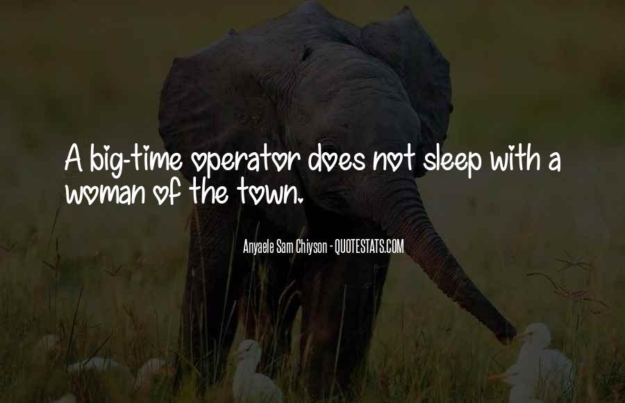 Operator Quotes #86355