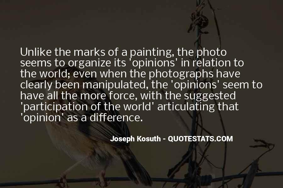 Opinion Difference Quotes #1101051