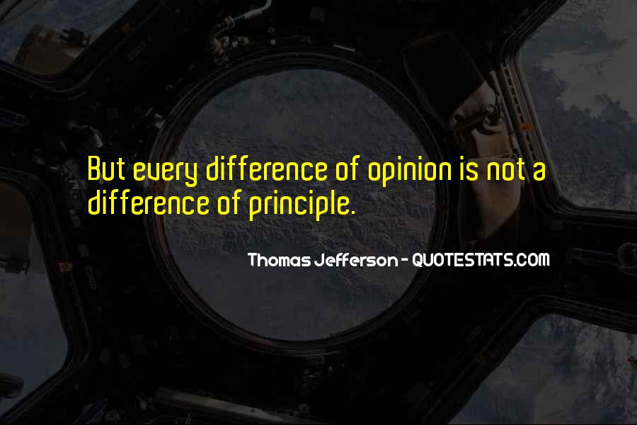 Opinion Difference Quotes #1830632