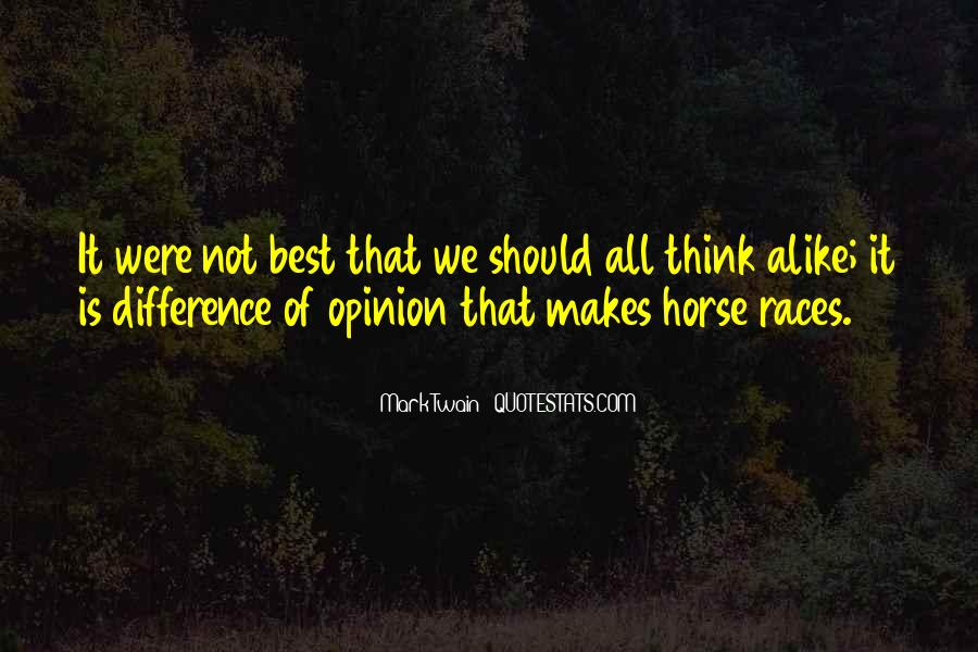 Opinion Difference Quotes #690900