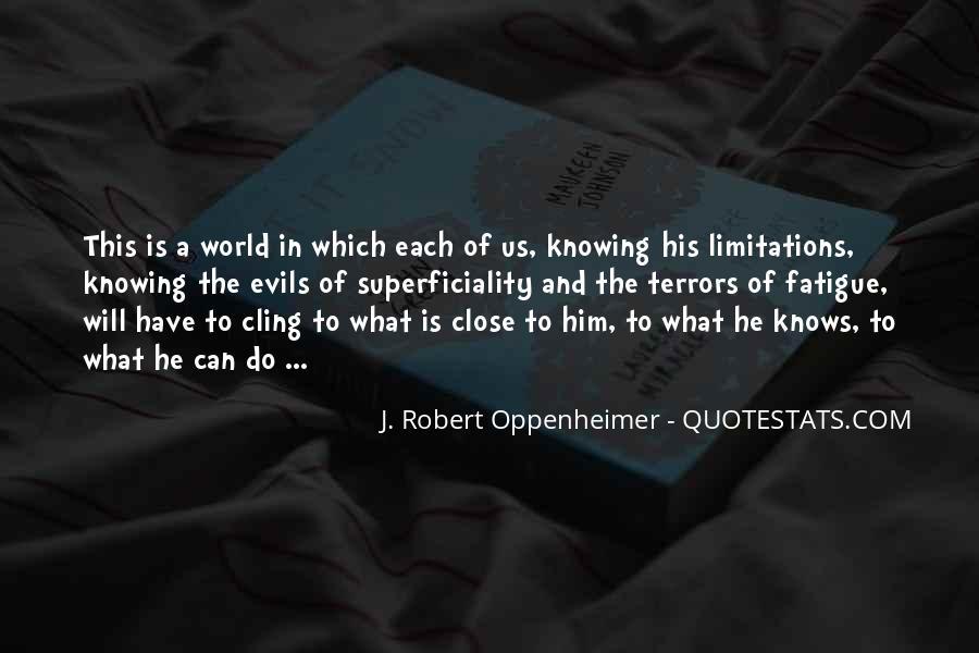 Oppenheimer Robert Quotes #1184622