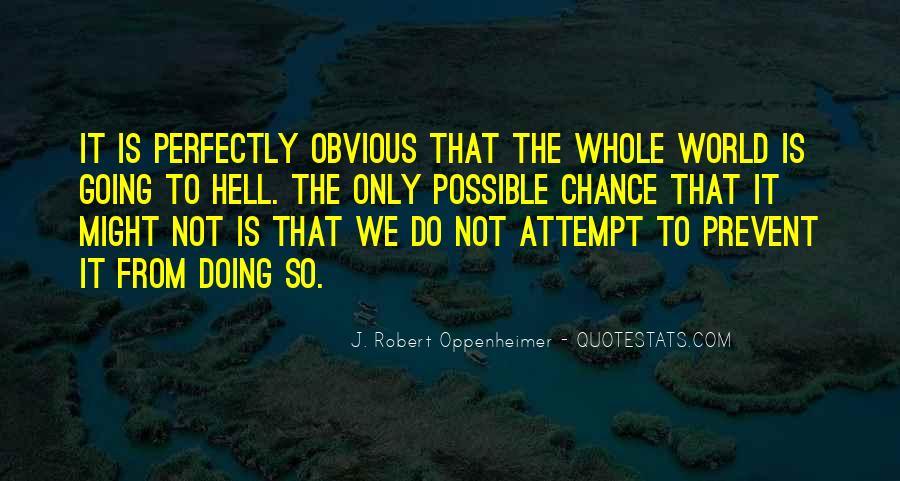 Oppenheimer Robert Quotes #1230377