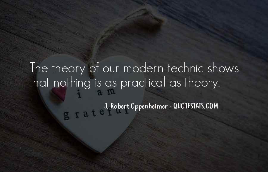 Oppenheimer Robert Quotes #1375476