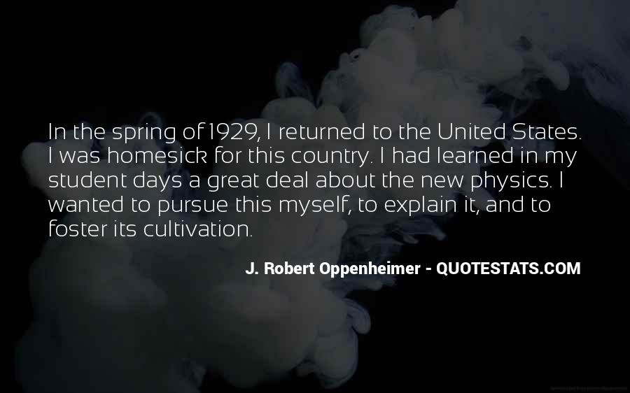 Oppenheimer Robert Quotes #1447478