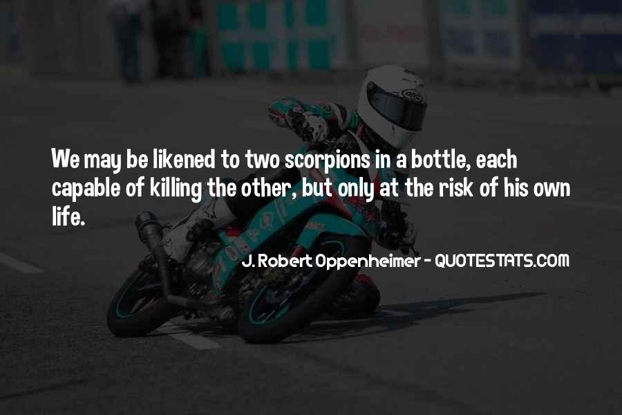Oppenheimer Robert Quotes #1540480