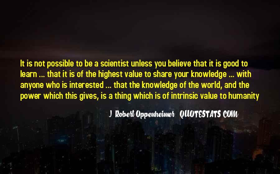 Oppenheimer Robert Quotes #1690433