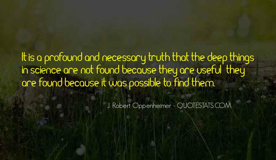Oppenheimer Robert Quotes #352921