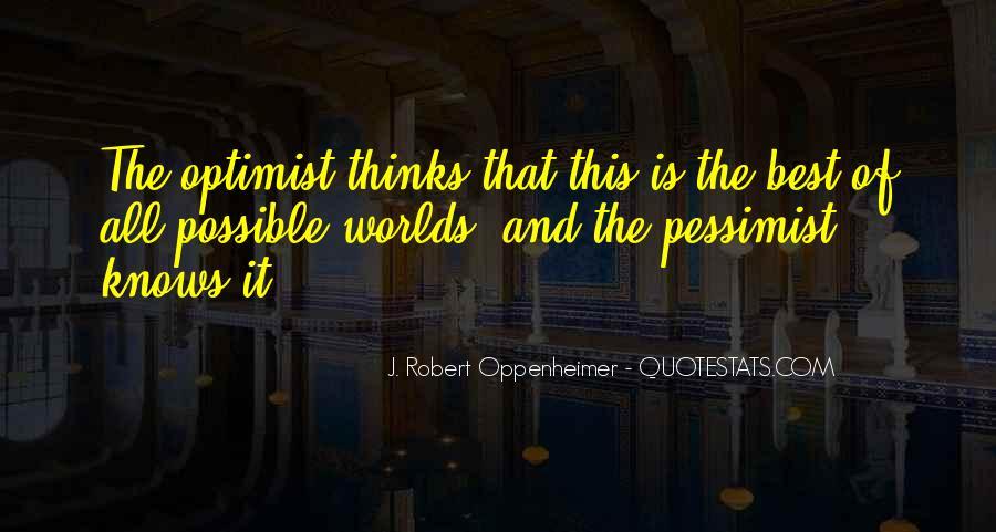 Oppenheimer Robert Quotes #392799