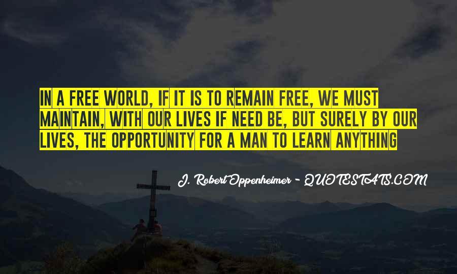 Oppenheimer Robert Quotes #441141