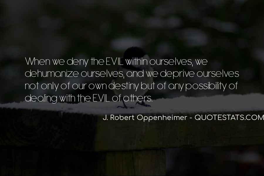 Oppenheimer Robert Quotes #705566