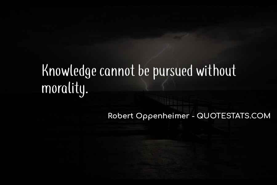 Oppenheimer Robert Quotes #726900