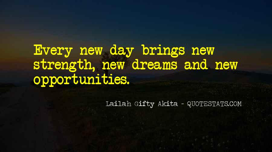 Opportunities And Possibilities Quotes #150367