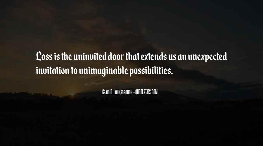 Opportunities And Possibilities Quotes #526856