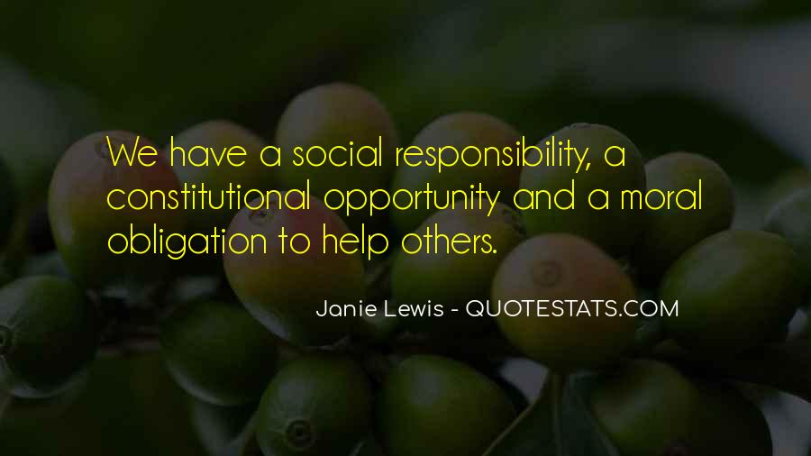 Opportunity To Help Others Quotes #1399197