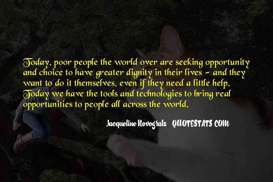 Opportunity To Help Others Quotes #501847
