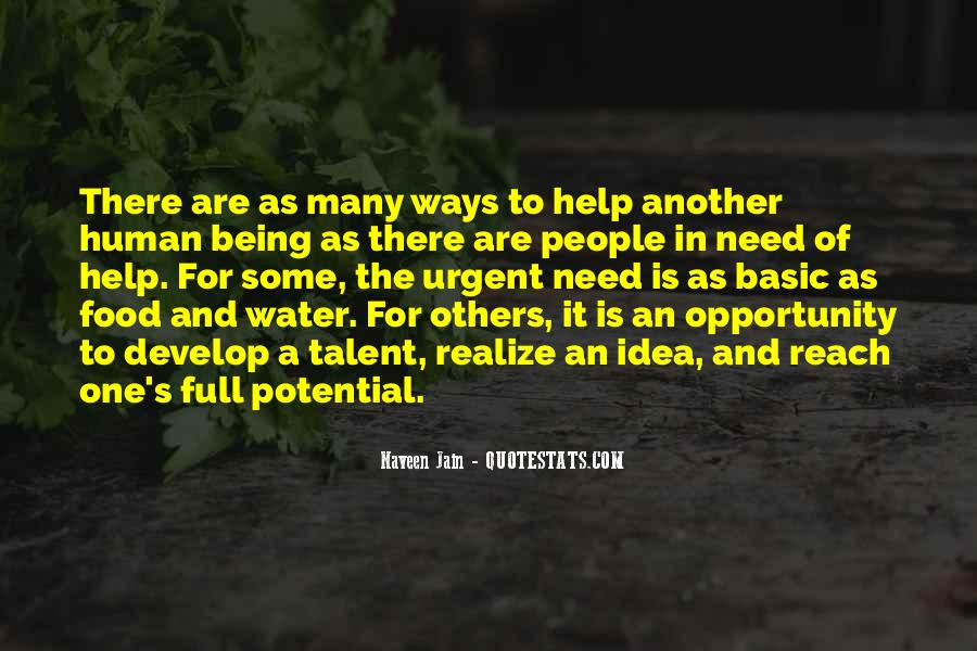 Opportunity To Help Others Quotes #697913