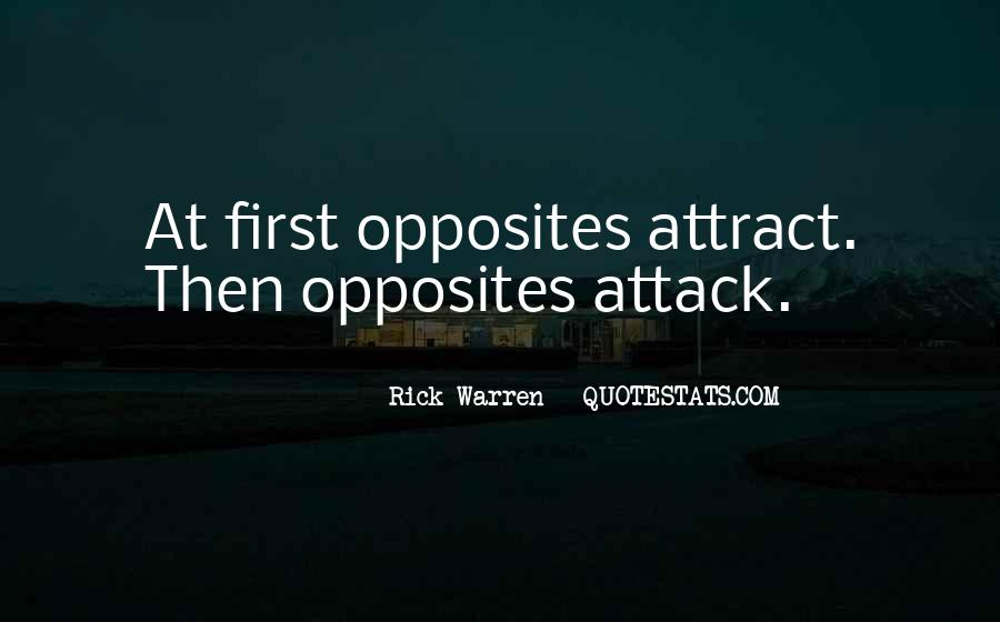 Opposites Attract Quotes #1192468