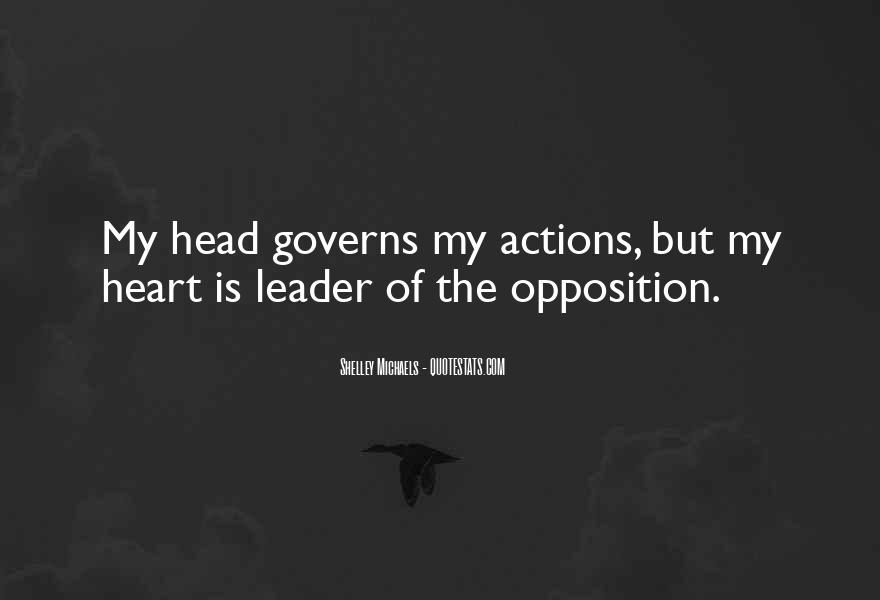 Opposition Leader Quotes #221670
