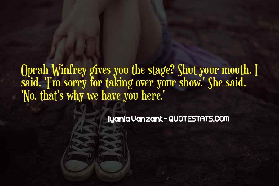 Oprah Iyanla Quotes #1504169