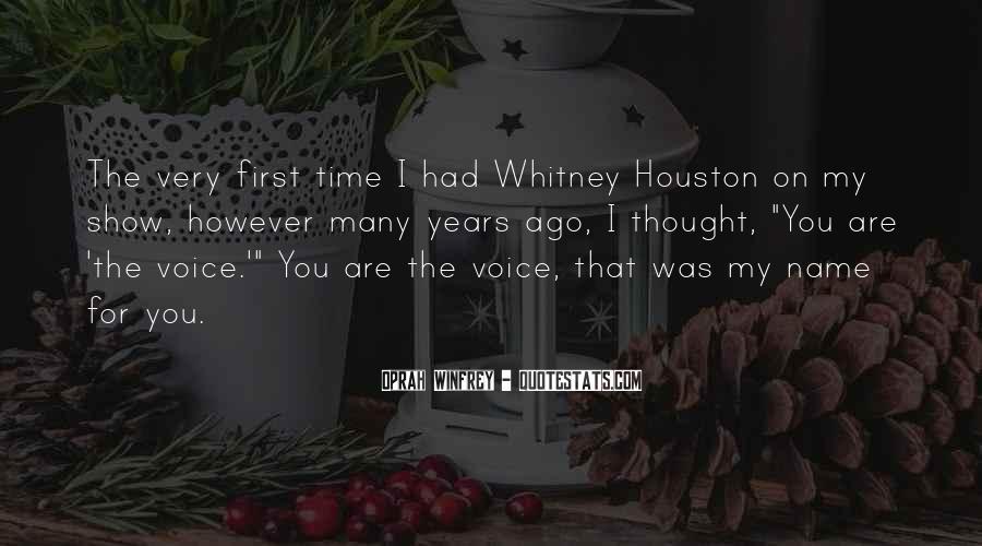 Oprah Whitney Quotes #1736376