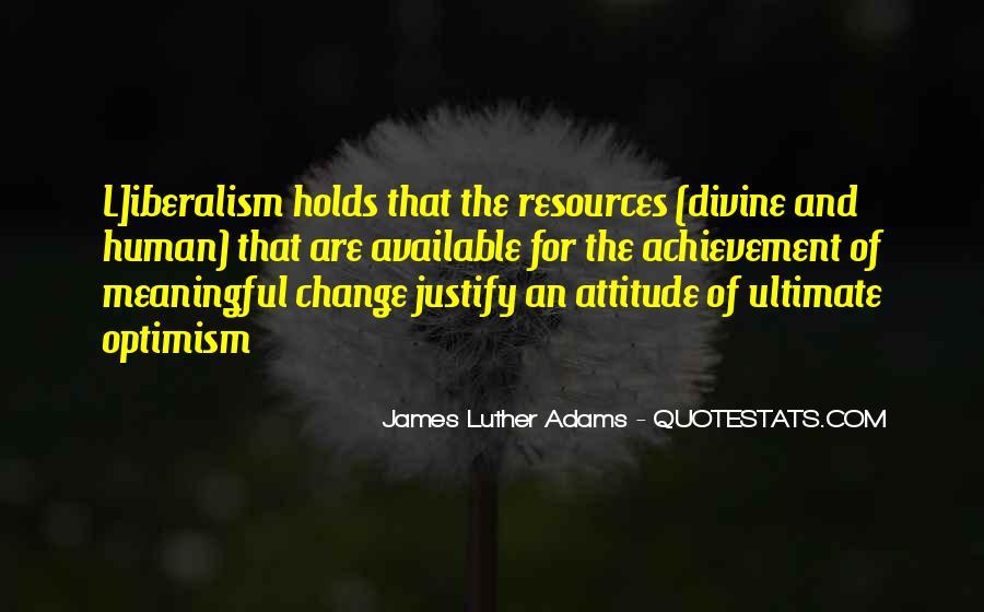 Optimism And Achievement Quotes #1055389