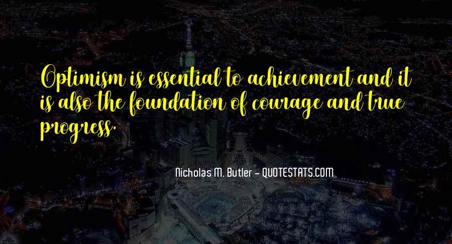 Optimism And Achievement Quotes #1800333