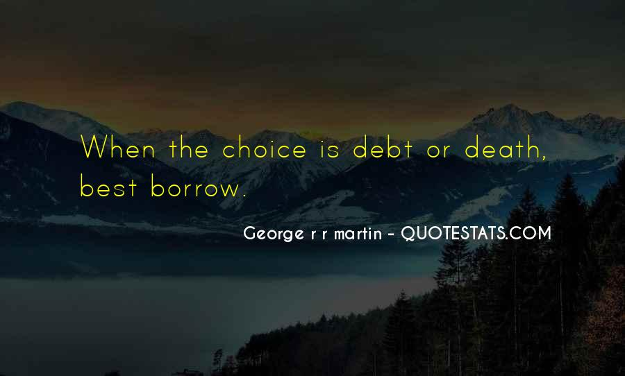 Quotes About Borrow #134556