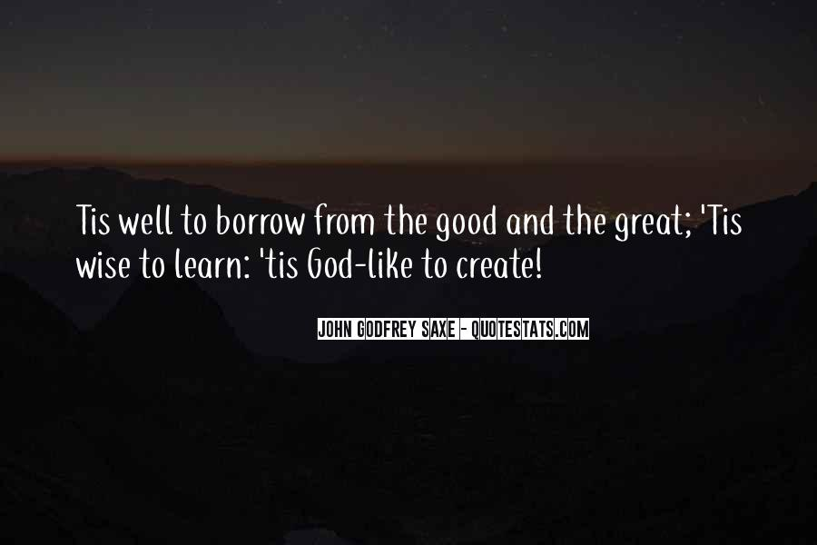 Quotes About Borrow #158273