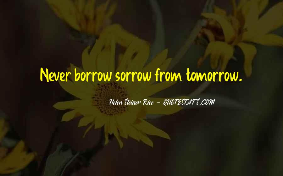 Quotes About Borrow #168194