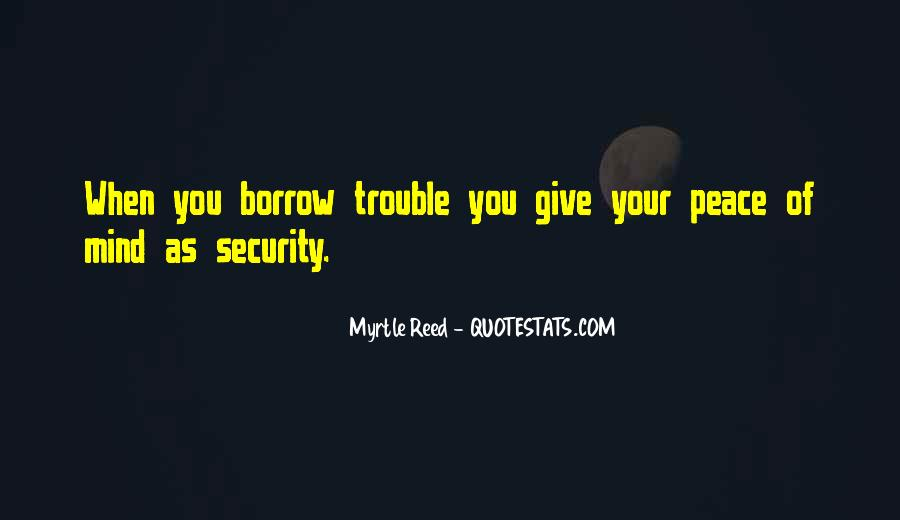 Quotes About Borrow #190256