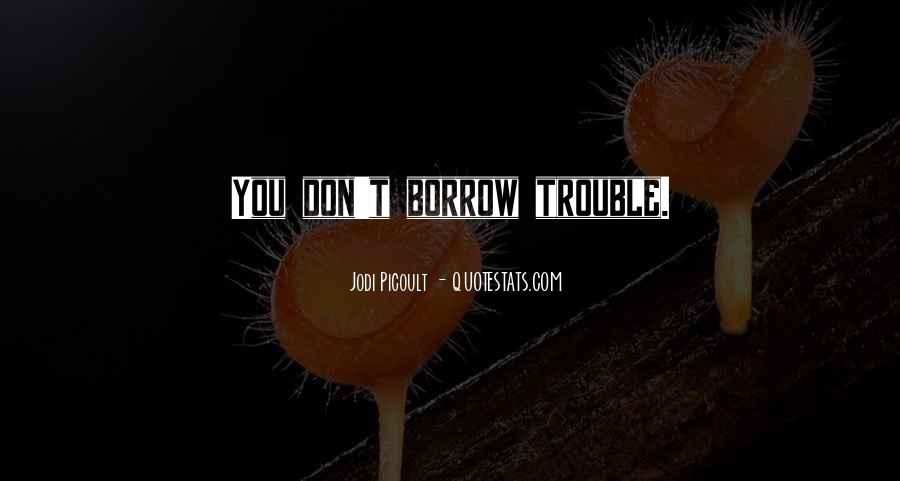 Quotes About Borrow #245907