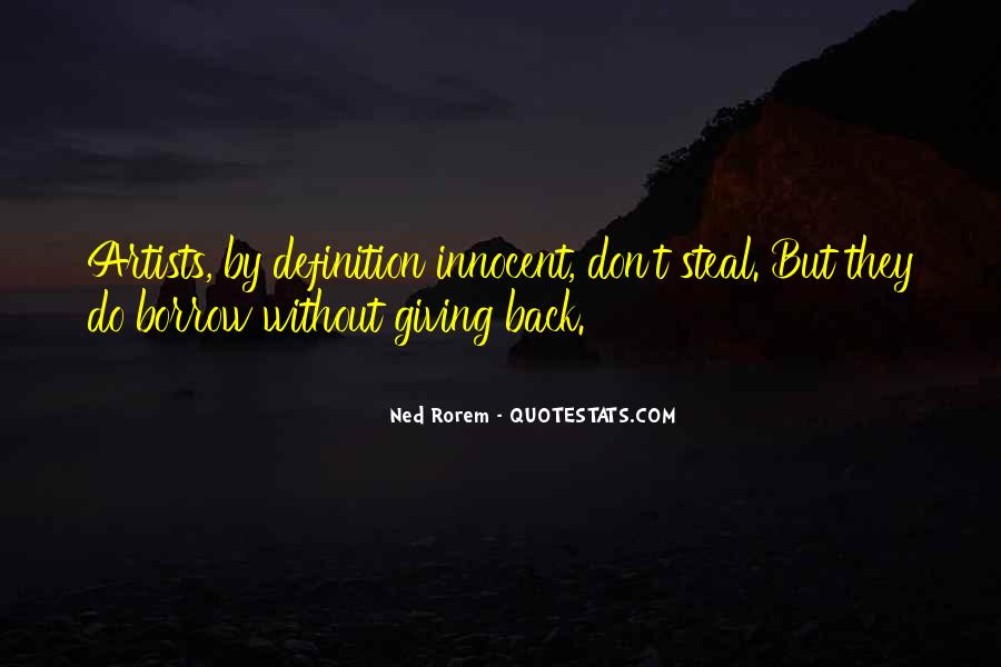 Quotes About Borrow #25794