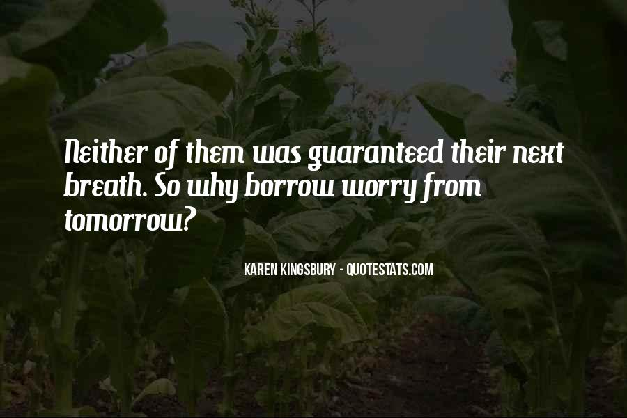 Quotes About Borrow #65347