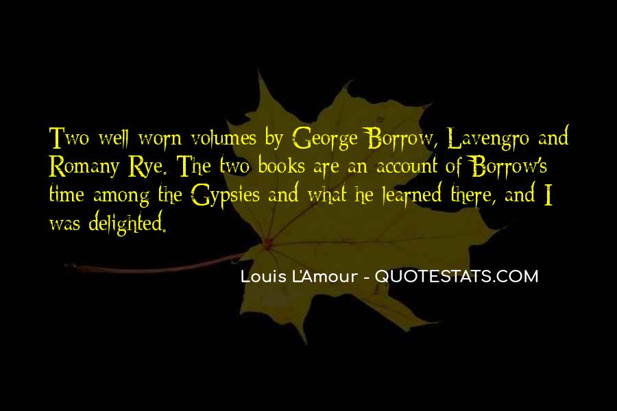 Quotes About Borrow #84652