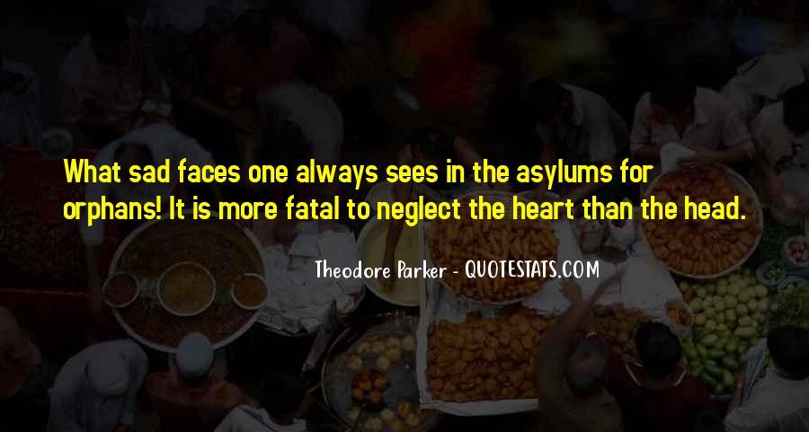 Orphans Sad Quotes #1055765