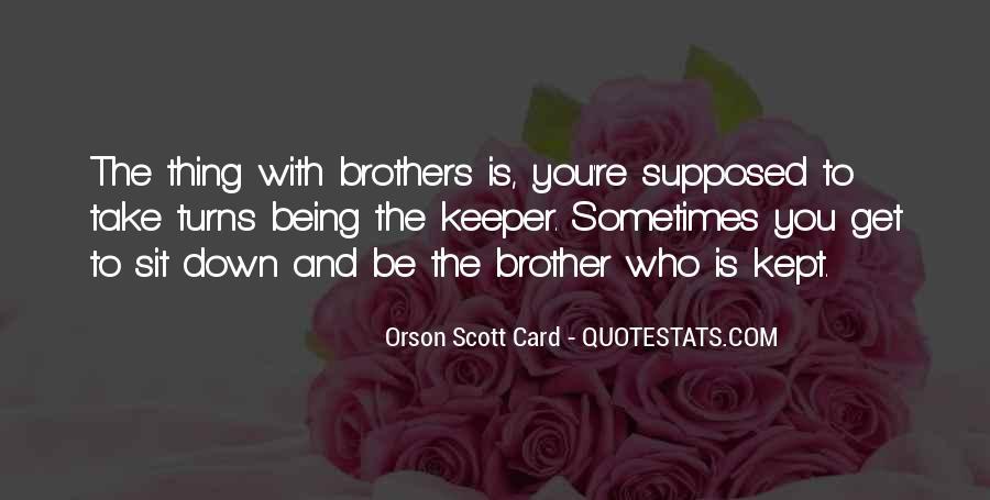 Orson Scott Card Bean Quotes #1383128
