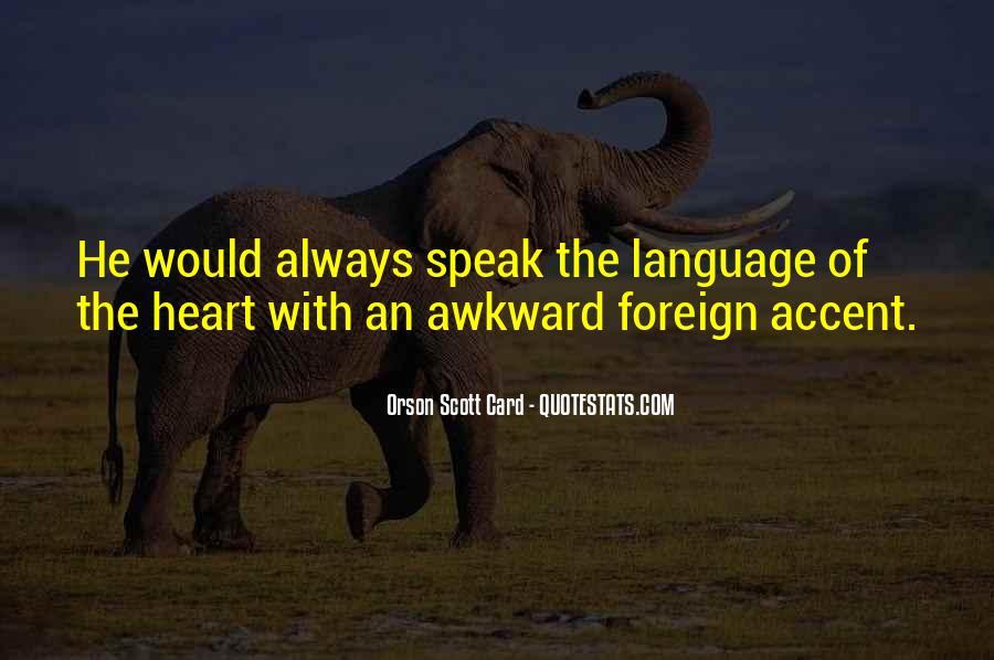 Orson Scott Card Bean Quotes #1708437
