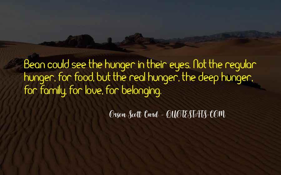 Orson Scott Card Bean Quotes #548701