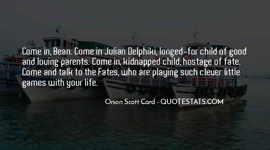 Orson Scott Card Bean Quotes #555974