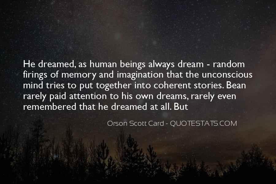 Orson Scott Card Bean Quotes #626472