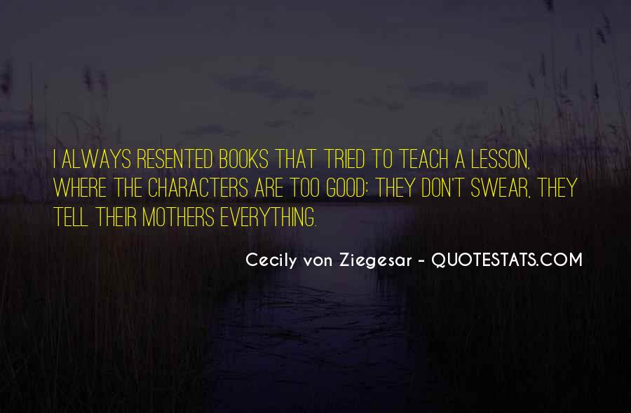 Quotes About Books And Mothers #1839156