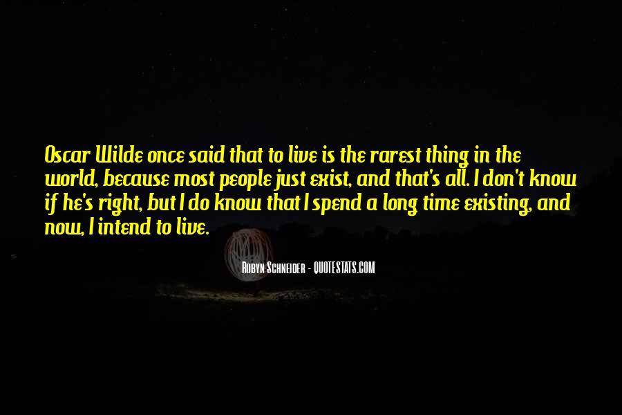 Oscar Wilde Existing Quotes #740154