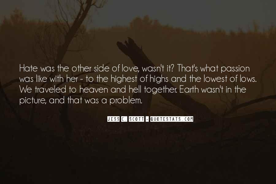 Other Side Of Love Quotes #1095659