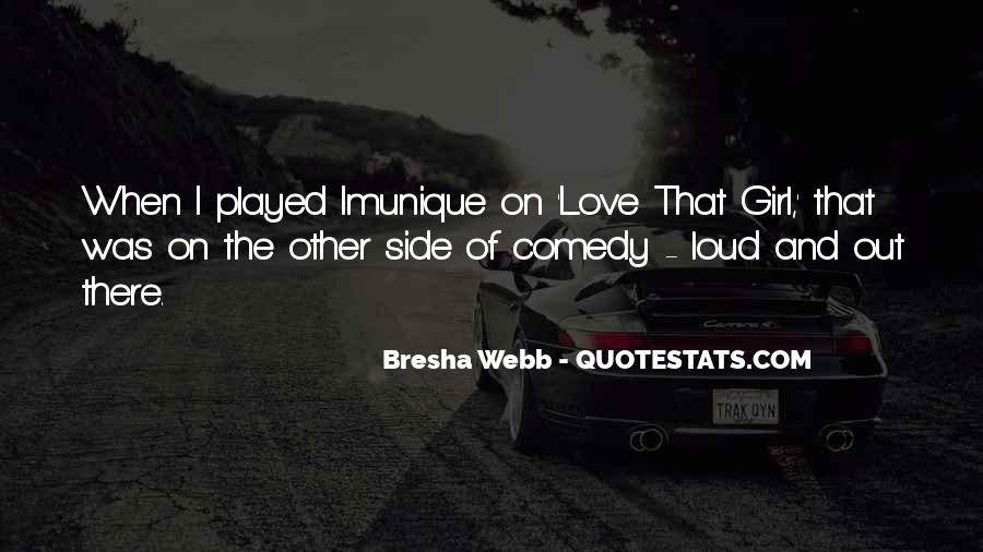 Other Side Of Love Quotes #1161769