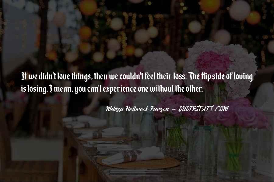 Other Side Of Love Quotes #1736609