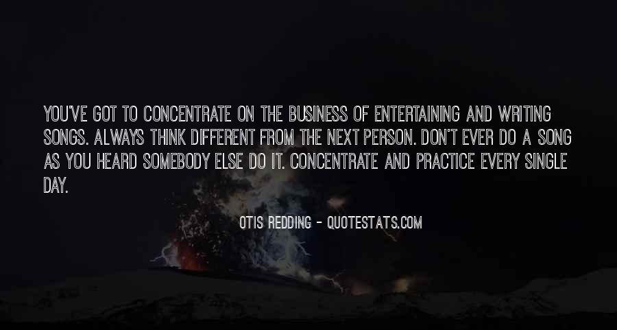 Otis Redding Song Quotes #435496