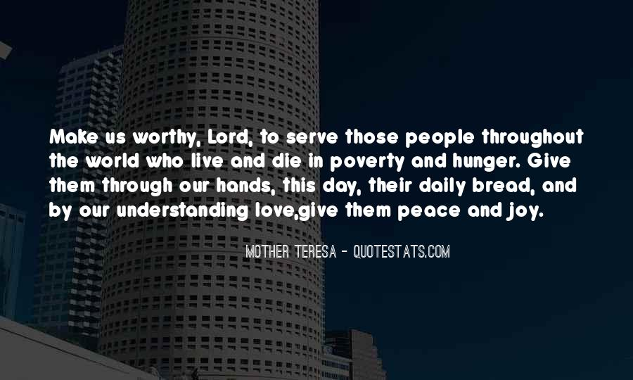 Our Daily Bread Best Quotes #126411