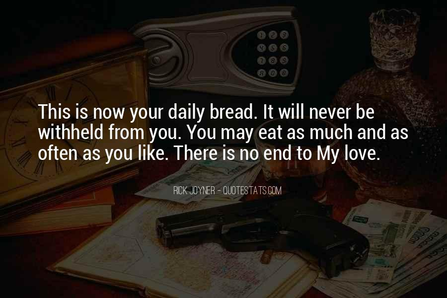 Our Daily Bread Best Quotes #177113
